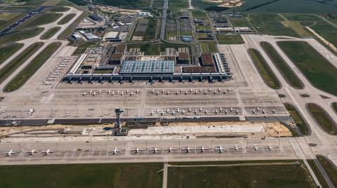 Der Flughafen Berlin Brandenburg - noch im Ruhemodus